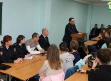 Крымские полицейские и общественники организовали форум по теме безопасности среди студентов