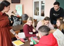 Фонд поддержки предпринимательства Крыма в нашем колледже провели обучающую деловую игру по финансовой грамотности
