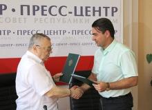 Церемония подписания соглашения о сотрудничестве