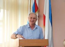 Литературная встреча с известным крымским писателем, поэтом-фантастом Вовк Валерием Ивановичем